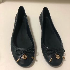 Tory Burch Navy blue shoes